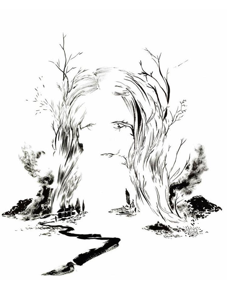 Portrait de Jane Campion par Abdelkader Benchamma