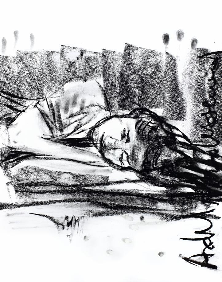 Portrait de Goldshifteh Farahani par Adel Abdessemed