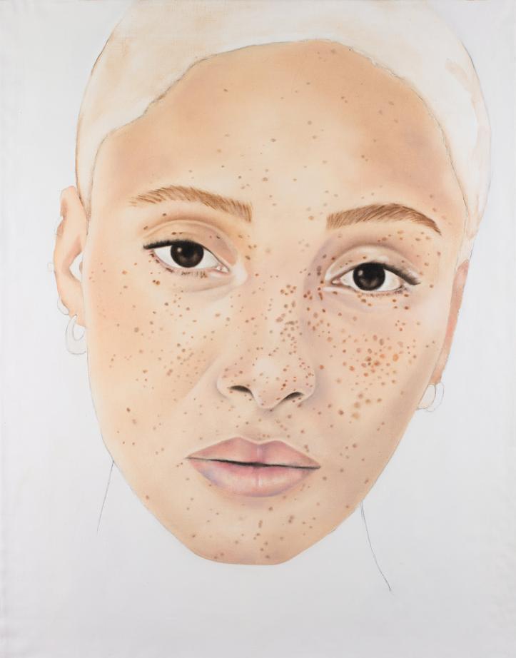 Portrait d'Adwa Aboah par Andrea Tyrimos