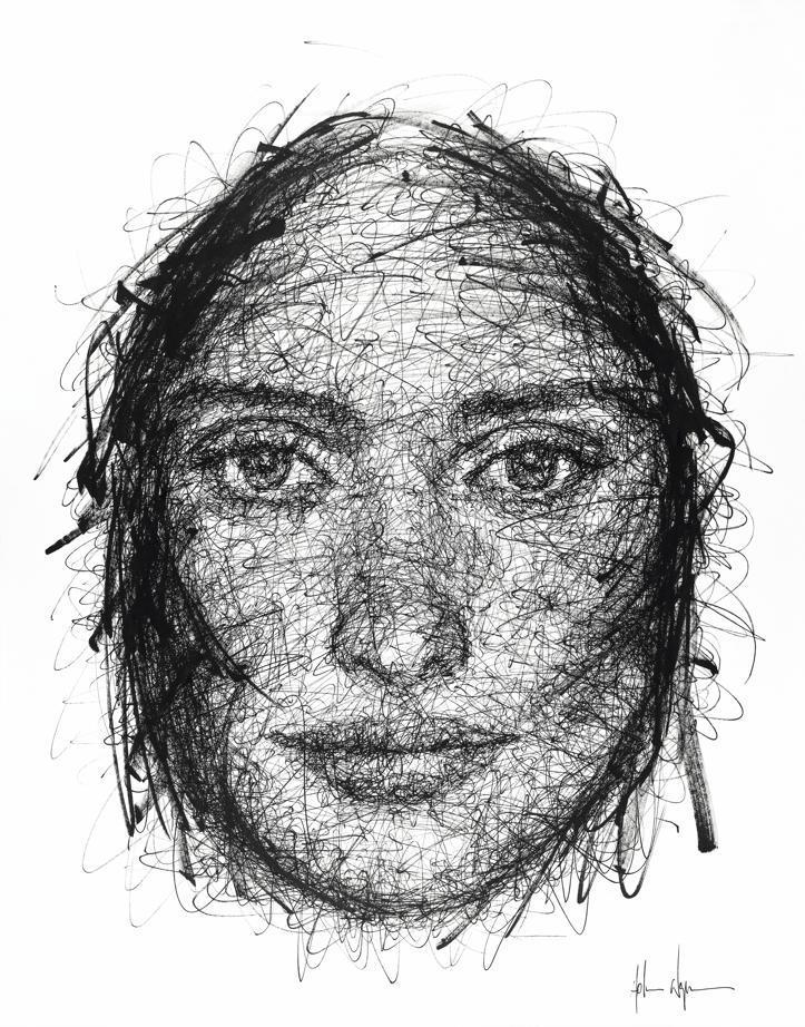 Portrait de Penelope Cruz par Hom Nguyen