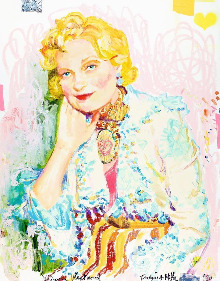 Portrait de Vivienne Westwood par Ida Tursic et Wilfried Mille