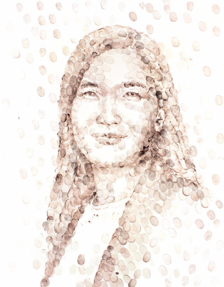 Portrait de Lee Bae par Eun Sun Kim