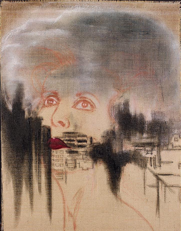 Portrait de Ferue par Mouna Rebeiz