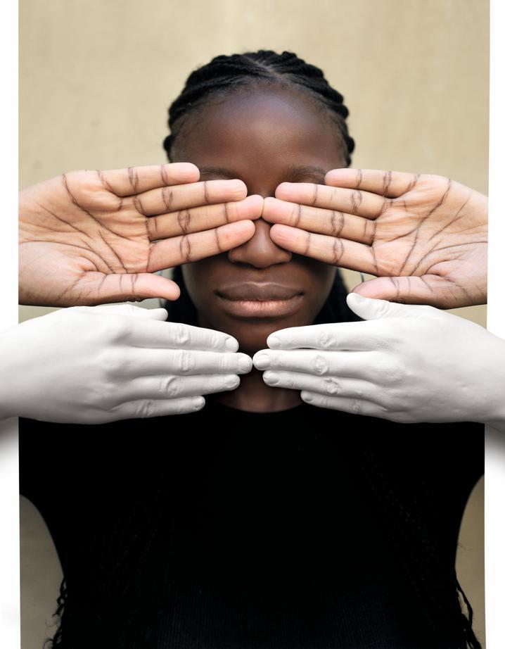 Portrait de Fanta Dyakité par Prune Nourry