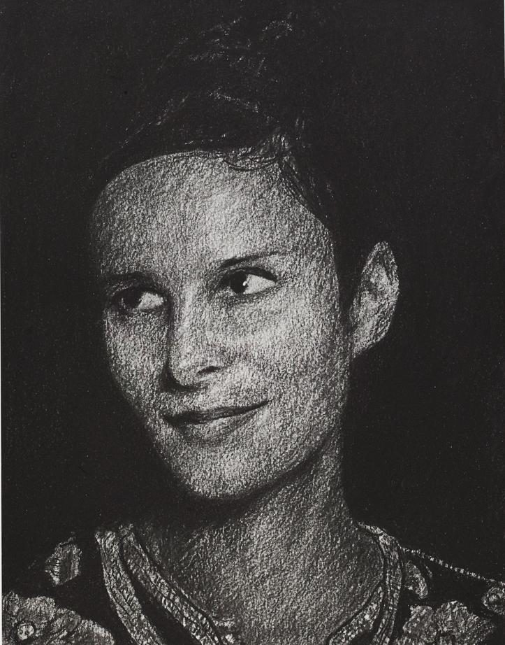 Portrait d'Eva Bester par Thomas Levy-Lasne